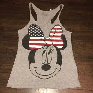 Patriotic Minnie Mouse Disney Tank
